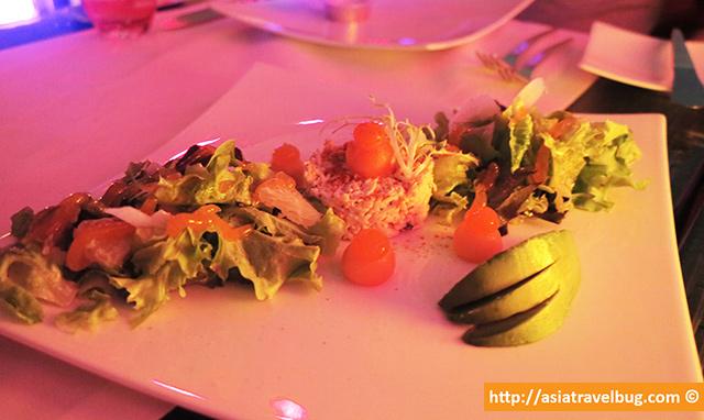 King Crab Salad (655++ Baht)