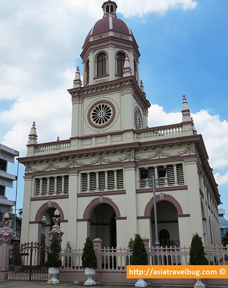 Santa Cruz Portuguese Church in Kudeejeen