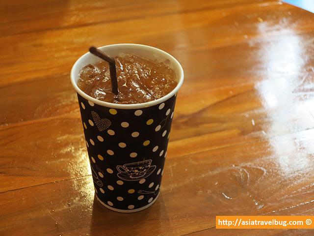 Super Refreshing Thanu Singha Iced Tea