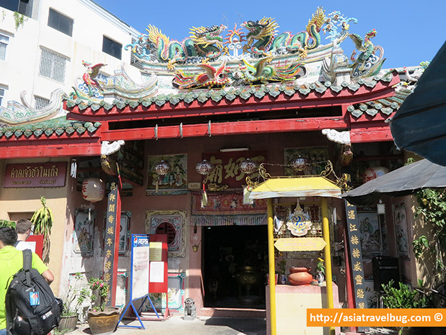 A Chinese Temple in Thonburi
