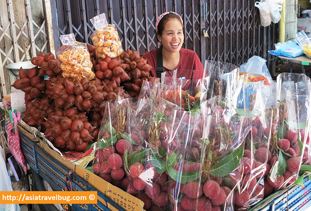 All Smiling Lychee Vendor