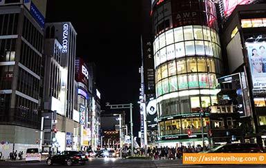 Ginza at Night | Tokyo Itinerary 7 Days