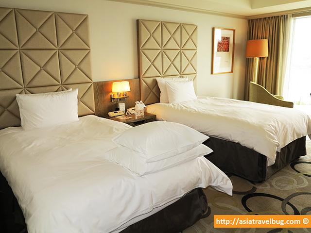 Spacious 40 Sqm Ocean View Twin Room at Hotel Nikko Tokyo, Odaiba | tokyo itinerary hotel