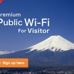 Docomo Wi-Fi for Visitor for 1 Dollar a Day