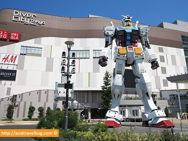 台場高達雕像 - Odaiba Gundam Statue