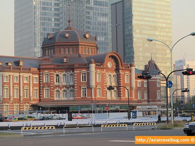 東京站 tokyo station area