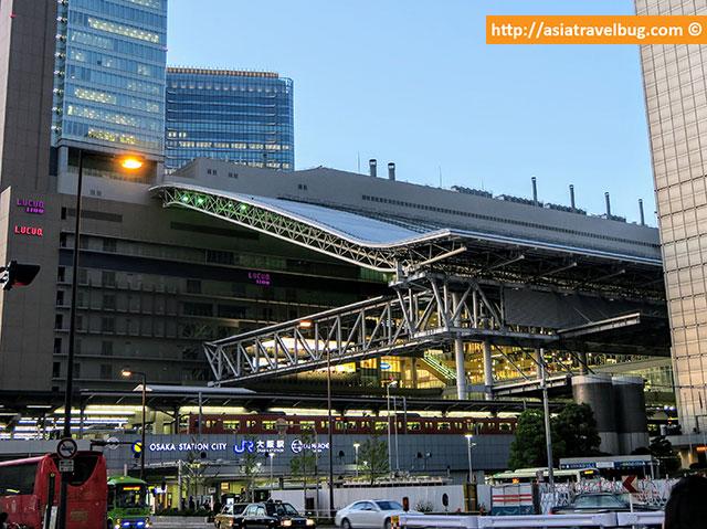 JR Osaka Station, Umeda Osaka