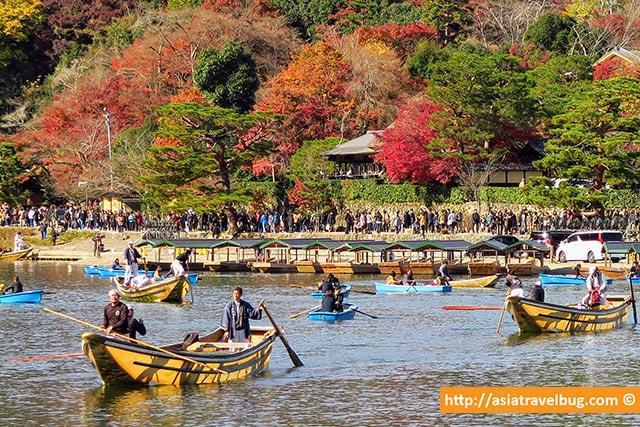 Arashiyama Kyoto in Autumn