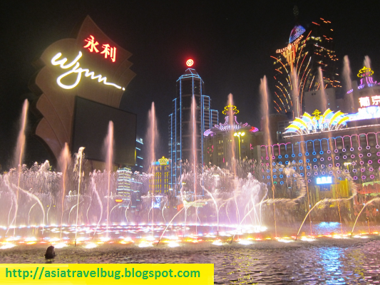 free casino shows in macau